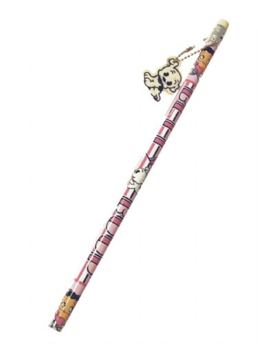 Betty Boop Pink Hearts Pencil And Dog Charm